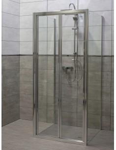 Kabina prysznicowa Renoma 80x80x190 z pojedynczymi drzwiami uchylnymi