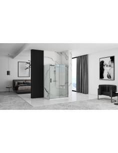 Kabina prysznicowa Renoma 90x90x190 z podwójnymi drzwiami uchylnymi