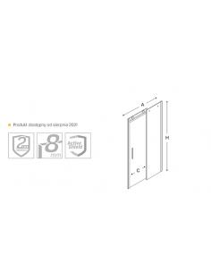 Grzejnik dekoracyjny łazienkowy 745x500 mm