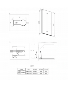 Grzejnik dekoracyjny łazienkowy 1045x400 mm