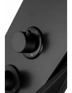 Brodzik New Maxima na stelażu styropianowy asymetryczny zintegrowany 120x85x17